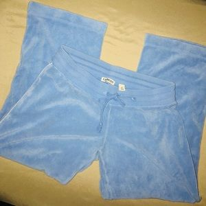 Bundle 5 for $10! Express Velour Blue Capris Sz XS
